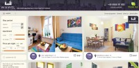 "Website ""Wawel apartments"" #3"