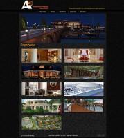 """Strona internetowa dla architektonicznej i projektowej grupy """"A3"""" #2"""