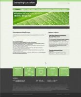 Strona internetowa «Therapist & Consultant». Wersja 2.0 #2