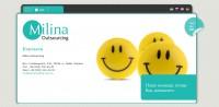 Milina Outsourcing (веб-сайт) #1