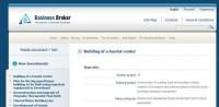 """Вебсайт """"Biznes Broker"""" #1"""