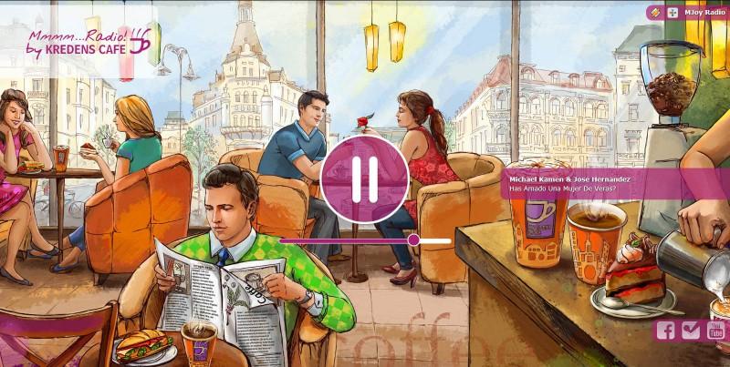 Веб-сайт радіостанції MJoy #8