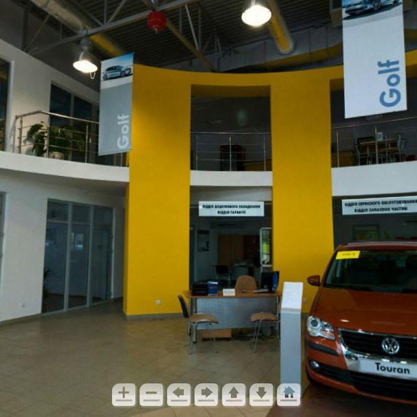 Виртуальный тур по автосалону Volkswagen в Ивано-Франковске. #3