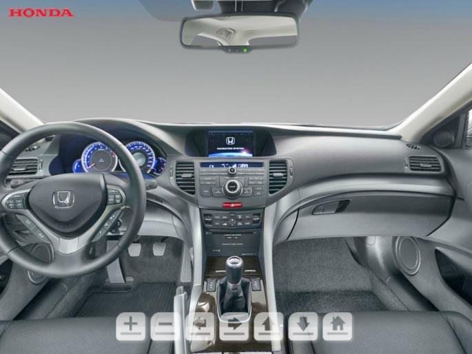 3D-тур интерьера Honda Accord #1