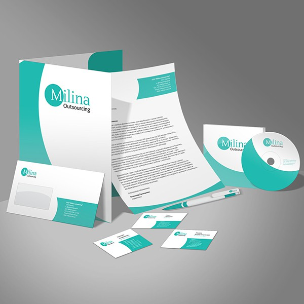 Milina Outsourcing (графический дизайн) #3