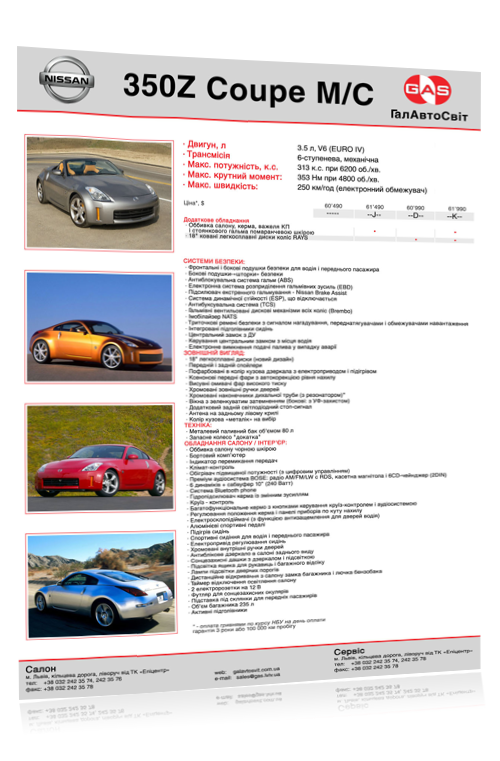"POS материалы для ""Nissan"" (2008 - 2010) #6"