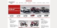 Сайт львівського дилера Honda #2
