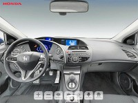 3D-tour interior Honda Civic 5D #1