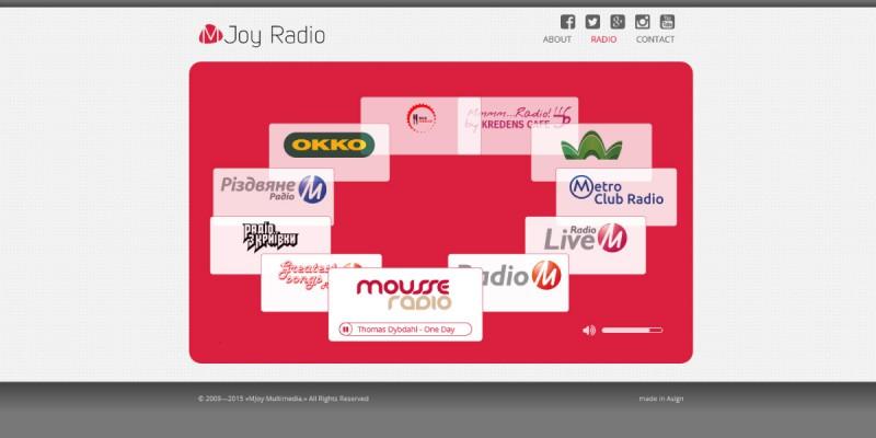 Mjoy Radio 2.0 #1