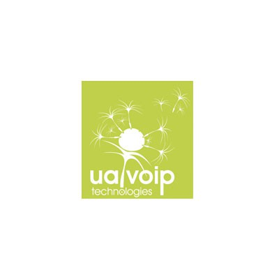 "Logo for ""UaVoip"" #1"
