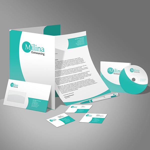 Milina Outsourcing (графічний дизайн) #3